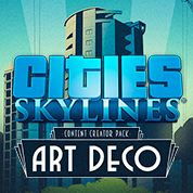 Cities: Skylines Art Deco DLC