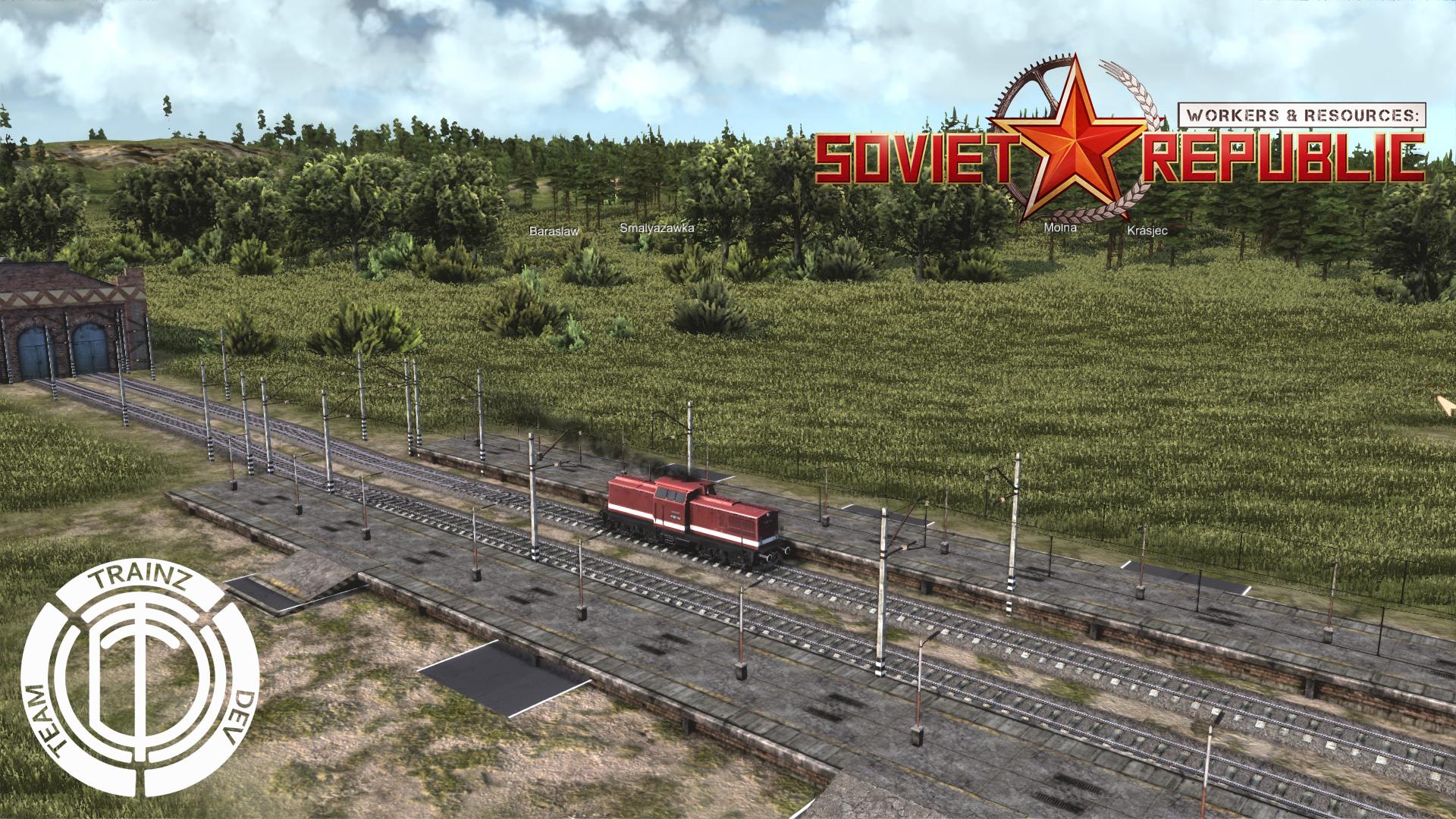 Звуковая модификация подвижного состава в игре.